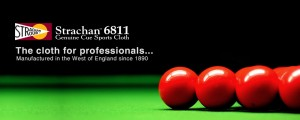 PALKO are authorised dealers of World Class Strachan 6811 Billiard Cloth
