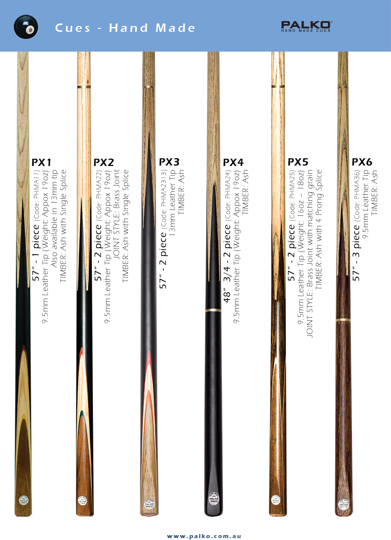 PALKO Hand Made Cues
